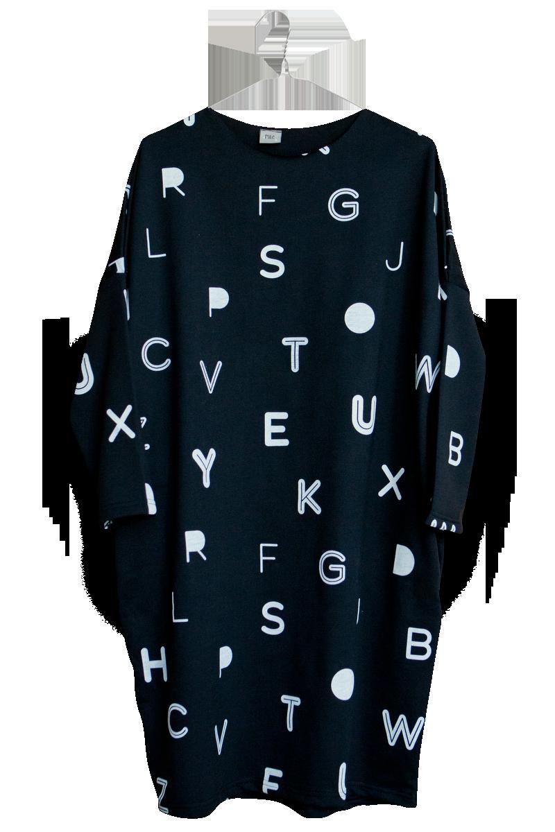 7330c674fc20 Mile dámske šaty – písmenká – Hudry Hudry