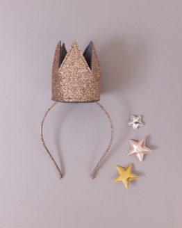 Čelenka do vlasov – Glitter crown 8b274b7309